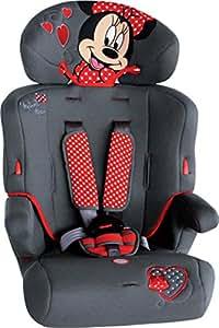 Disney Seggiolino Auto 9-36 Kg Minnie bianco, nero/rosso