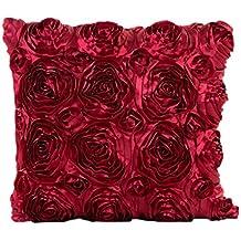 Logobeing Funda de Cojines de Flores 45X45 Baratos Almohada Casos La Sala Con Flores Para Sofa