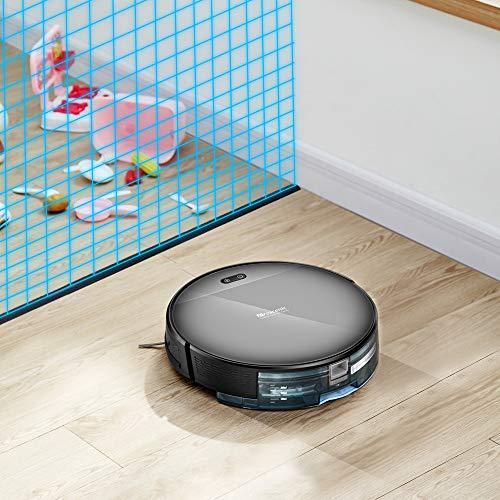 Proscenic 800T WLAN Staubsauger Roboter(2 in 1: Saugroboter mit Wischfunktion),Wischroboter,350ML elektrischer Wassertank,App-Steuerung,Magnetband für Bereich Begrenzung - 5