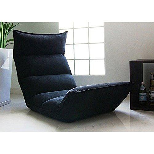 Buykuki - Sofa De Suelo Puff Multiposición Negro