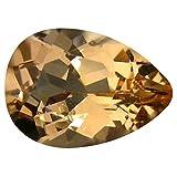 Morganite Pietra preziosa sciolto 2.43 ct PGTL Certified Pear Cut (11 x 8 mm) Brazilian Morganite Loose Gemstone