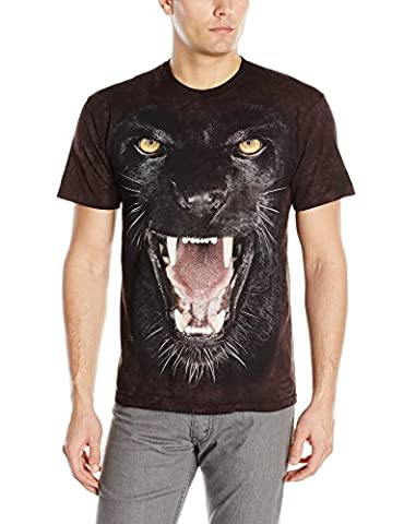 Agressive panther - T-shirt félin - The Mountain-S (U.S) =