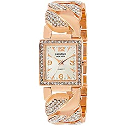 Fabiano New York Analogue Off White Dial Womens Watch-Fny077
