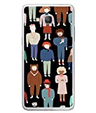 This is Durable The population design in black background 2D Designer Case made up of Hard Polycarbonate Plastic with Metal Printed and This Case is very much safe for your Samsung Galaxy Grand Prime :: Samsung Galaxy Grand Prime Duos :: Samsung Gala...