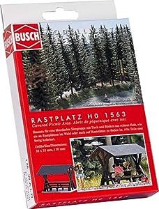 Busch - Edificio ferroviario de modelismo ferroviario H0 Escala 1:87 (BUE1563)