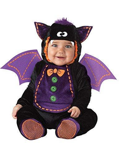 Generique - Costume Pipistrello per Neonato - Classico 12/18 Mesi (86)