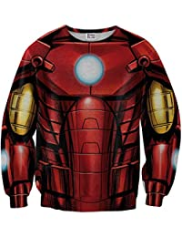 Sudadera Iron Man suit Sweater Front MV-MA005