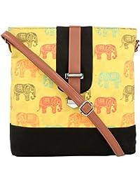 All Things Sundar Womens Sling Bag / Cross Body Bag - S14 - 74