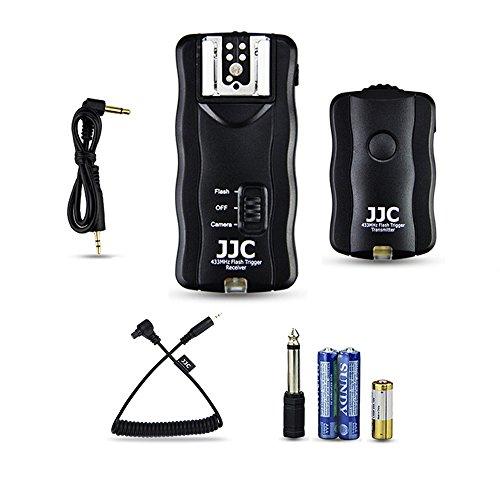 JJC Funkauslöser Blitzauslöser Auslöser für Canon EOS 5D Mark IV III II 6D 6D Mark II 7D 7D Mark II 1Dx Mark II 5Ds 5Ds R 1D C 1D X 1Ds...