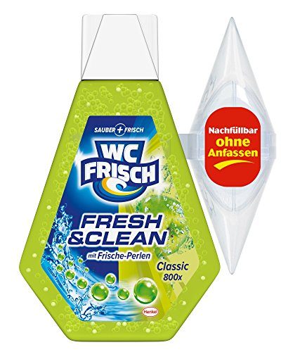WC Frisch Fresh und Clean Duftspüler Gel, 9er Pack (9 x 1 Stück)