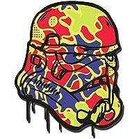 Pegatina Star Wars Stormtrooper psicodélica, para Snowboards, skateboards, teléfono