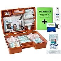 Erste-Hilfe-Koffer M2 + für Betriebe DIN 13157 EN 13157 von HM-Arbeitsmedizin mit Beatmungshilfe, Wundreinigung... preisvergleich bei billige-tabletten.eu