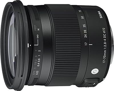Sigma 17-70 mm f2,8-4,0 Objektiv (DC, Makro, HSM, 72 mm Filtergewinde) Objektivbajonett