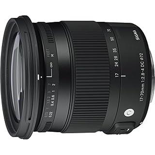 Sigma 17-70 mm f2,8-4,0 Objektiv (DC, Makro, OS, HSM, 72 mm Filtergewinde) für Canon Objektivbajonett