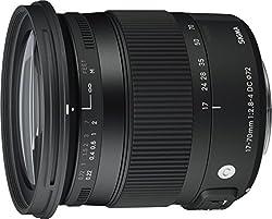 Sigma 17-70 mm f2,8-4,0 Objektiv (DC, Makro, OS, HSM, 72 mm Filtergewinde) für Nikon Objektivbajonett