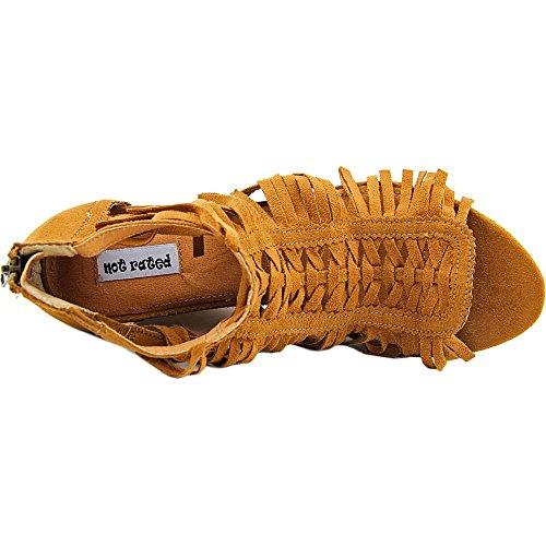 Not Rated Honey Stoff Keilabsätze Sandale Tan