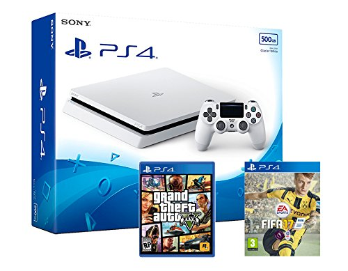 playstation-4-ps4-slim-console-500go-blanche-triple-aaa-pack-fifa-17-gta-v