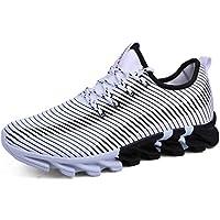 huge selection of a5fed d785c Hombres Zapatillas Deportivas Zapatos Casuales para Adultos Blandos de  Fondo Suave Transpirable con Cordones elásticos Calzado