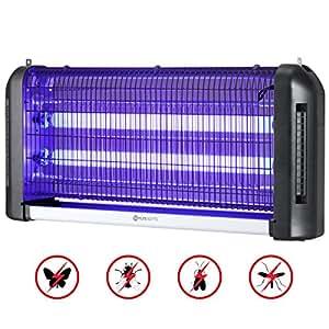 lampe anti moustique yunlights anti insectes 30w lampe tue mouches et les profitez d 39 un. Black Bedroom Furniture Sets. Home Design Ideas