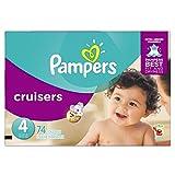 Pampers Cruisers Einwegwindeln, Größe 4, 74 Stück
