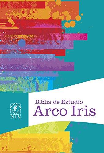 Ntv Biblia de Estudio Arco Iris, Multicolor Tapa Dura (Ntv De Biblia Estudio)