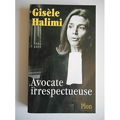Avocate irrespectueuse/Halimi, Gisèle/Réf39042