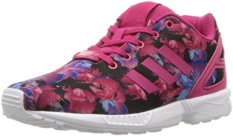 adidas originaux des filles « « « zx audacieuse flux c basket, rose - rose buzz blanc, 12 m petit 185f58