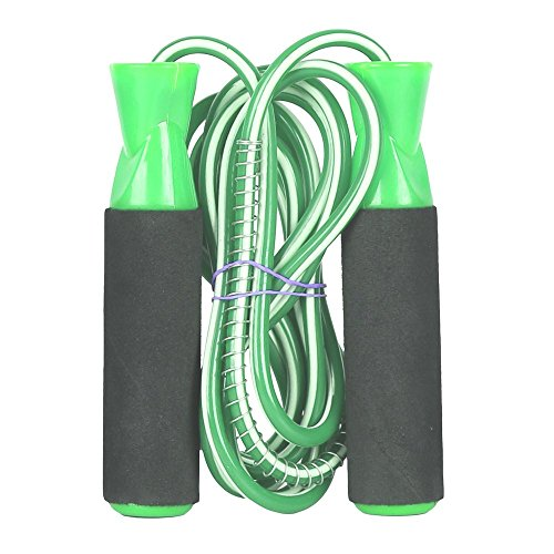 ILARTE Exclusive Gym training Skipping Rope(Light Green)Youth/Adults  available at amazon for Rs.189