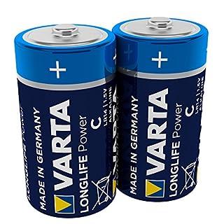 Varta Longlife Power Batterie C Baby Alkaline Batterien LR14 (2er Pack)