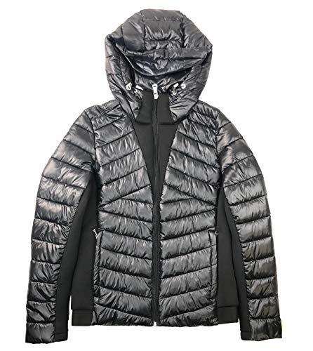 Calvin Klein Women's Shine Zip-Front Puffer Jacket Calvin Klein Down Coats