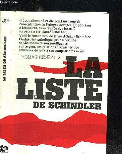 LISTE DE SCHINDLER par THOMAS KENEALLY