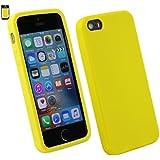 Emartbuy® Apple iPhone SE Silikon Haut Kasten Abdeckung Orange