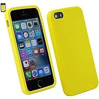 Emartbuy Silikon Skin Schutzhülle für Apple iPhone SE–Orange