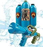 Jurassic World Water Blaster Rucksack Garten Spielzeug für Kinder Outdoor-Spiele für Kinder Soaker Back Pack Sommer Spiel