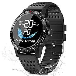 Smartwatch Fitness Uhr,blutdruck uhr mit Pulsuhren IP67 Wasserdicht Sport Uhr Aktivitätstracker Fitness Uhr Schlafmonitor schrittzähler Smartwatch Damen Herren Smart watch,Fitness Uhr für iOS Android