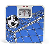 #5: Belita Bps-M-1101 Square Display - Large Surface Personal Analog Weighing Scale Upto 120 Kg - Football