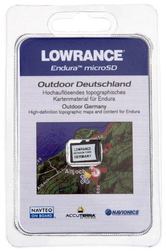 Lowrance SD-Karte Update Outdoor Germany, schwarz Lowrance-karten