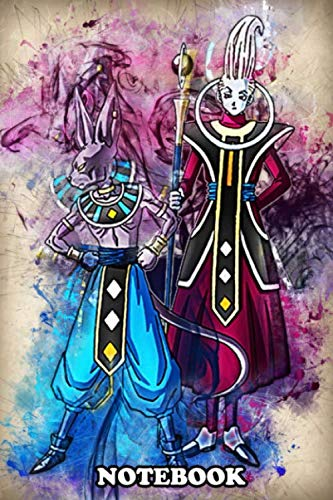 "Notebook: Beerus Vs Whis , Journal for Writing, College Ruled Size 6"" x 9\"", 110 Pages"