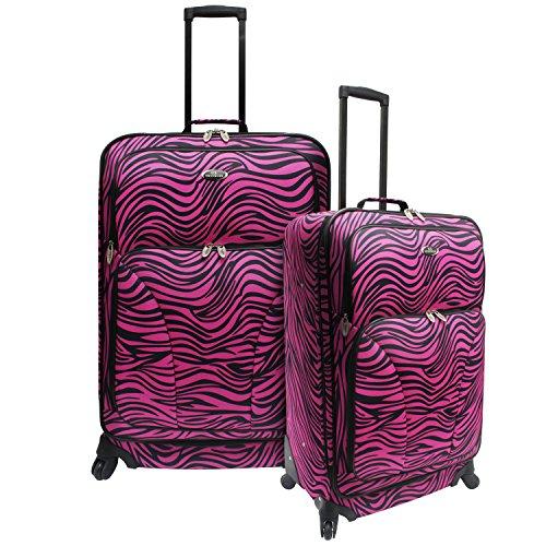 travelers-choice-us-traveler-fashion-2-piece-spinner-luggage-set-pink-zebra-one-size