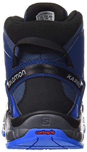 SalomonXA PRO 3D Mid J - Scarpe da trekking e da passeggiata Unisex – Bambini Black