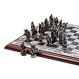 Toscano Mystical Legends ajedrez con piezas y tabla