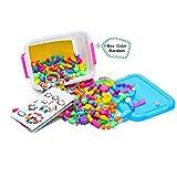 Pop Perlen Schmuckn,485pcs Spielzeug,DIY Fashion Perlen Set für Halskette Armbänder und Ringe Handwerk Geschenk für Mädchen.