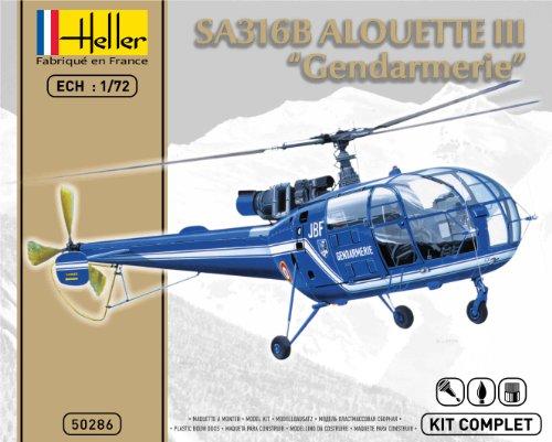 Heller - 50286 - Maquette - SA 316 Alouette III - Gendarmerie