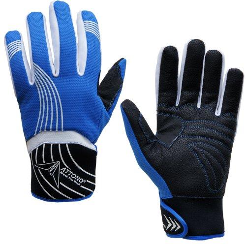 ATTONO Skihandschuhe Ski Snowboard Handschuhe Herren Damen - Größe 9/L