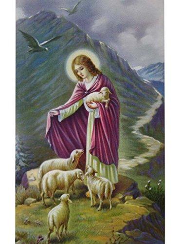 Heiligenbilder * Jesus Guter Hirte (Hirte Verkleiden)
