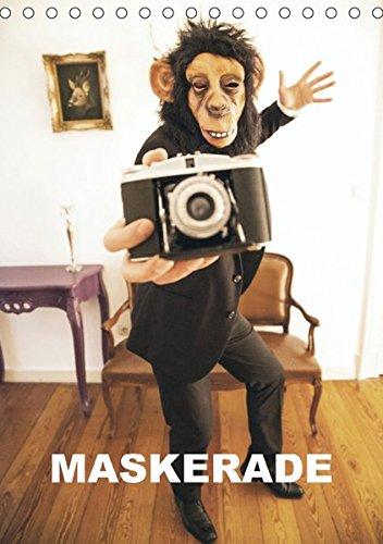 (MASKERADE (Tischkalender 2018 DIN A5 hoch): Eine tierische Maskerade (Monatskalender, 14 Seiten ) (CALVENDO Kunst) [Kalender] [Apr 07, 2017] - LAURENTIU MIELKE, LP12INCH)