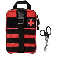 Krisvie Tactical EMT Medizinische Tasche 1000D Nylon Utility Bag mit Erste-Hilfe-Patch und Scher (Rot Besser) preisvergleich bei billige-tabletten.eu