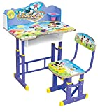Baby Station Study Table and Chair Set for Kids - Computer Table and Chair Set, Buy Foldable Study Tables (Mickey)
