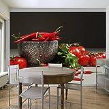 Vlies Fototapete 200x154 cm | TOP | Tapete | Fototapeten | Tapeten | Wandbilder XXL | Küche 100408-22