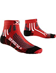 X-Socks – Calze da corsa XRUN Speed Two, da uomo, Uomo, X-SOCKS RUN SPEED TWO, rosso, 42/44